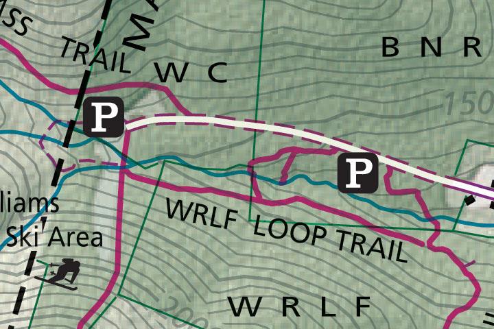 Berlin Rd Trails Map