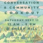 Conversation and Community Cookout